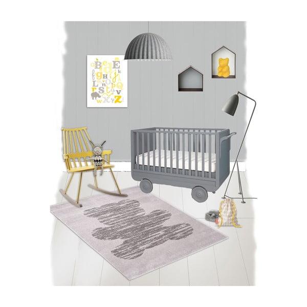 Dywan dziecięcy Teddy Gris, 120x170 cm