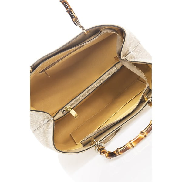 Beżowa torebka skórzana Markese Tamsin