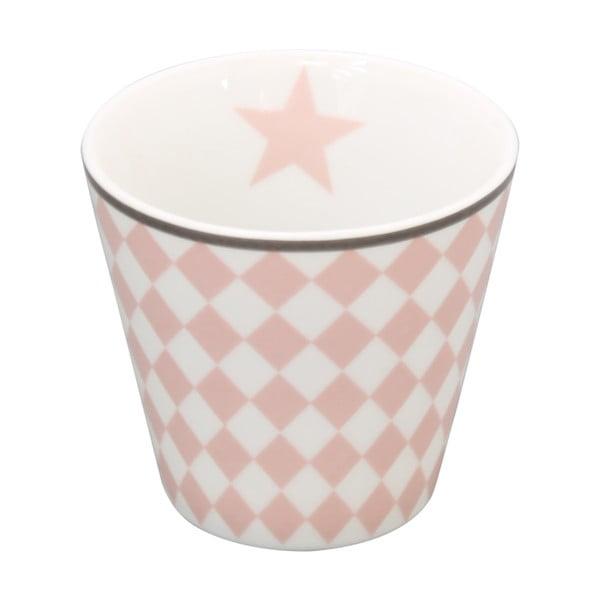 Kubek na kawę Krasilnikoff Pink Harlekin
