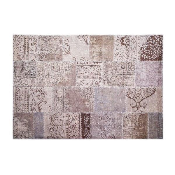 Dywan wełniany Allmode Grey, 180x120 cm