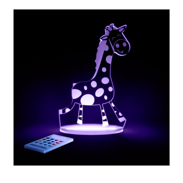 Dziecięca lampka nocna LED Aloka Żyrafa