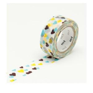 Taśma dekoracyjna washi MT Masking Tape Hearts