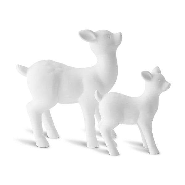 Zestaw 2 dekoracyjnych reniferów Deer Mom