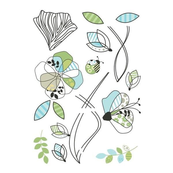 Naklejka Pattern Flowers