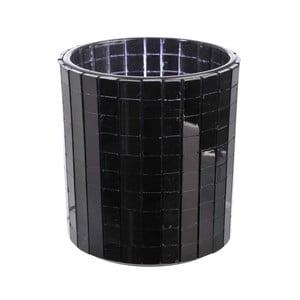 Świecznik Mirror Black, 7,2x8 cm