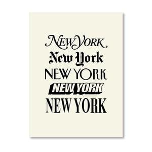 "Plakat ""New York"", 42x60 cm"