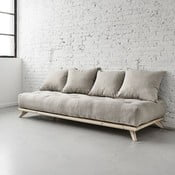 Sofa Senza Natural/Light Grey