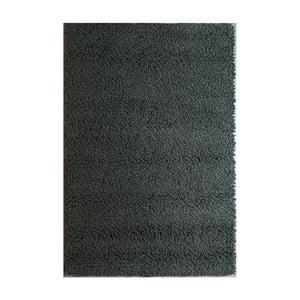 Dywan wełniany Dutch Carpets Loop Black Uni, 160x230cm