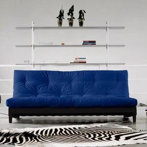Sofa rozkładana Karup Fresh Wenge/Royal