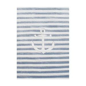 Niebieski dywan dziecięcy Happy Rugs Little Sailor, 120x180 cm