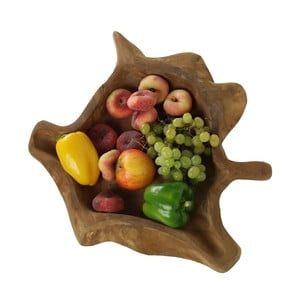 Misa na ovoce z drewna tekowego HSM Collection Flat