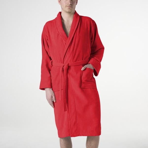 Czerwony szlafrok Pure, rozm. XL