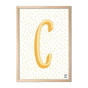 Plakat C designed by Karolina Stryková