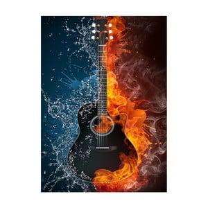 Obraz Pieśń lodu i ognia, 45x70 cm