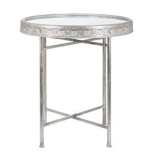 Stolik Orient, srebrny