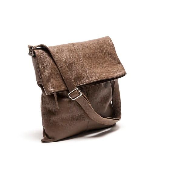 Skórzana torebka Luisa Vanini 1031 Fango