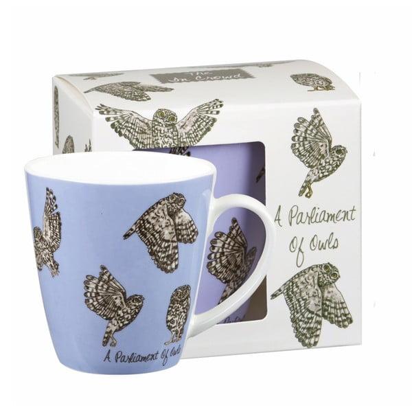 Kubek Churchill Crowd Cherry Owls, 360 ml