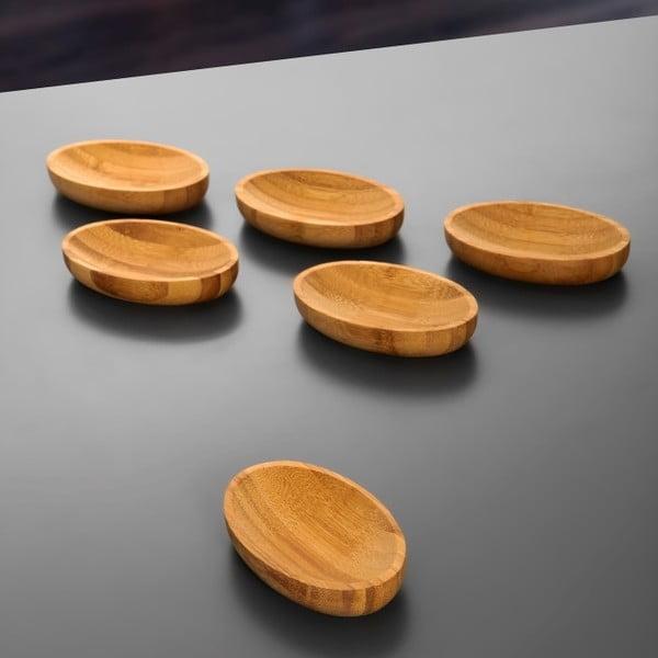 Komplet 3 bambusowych misek Peka