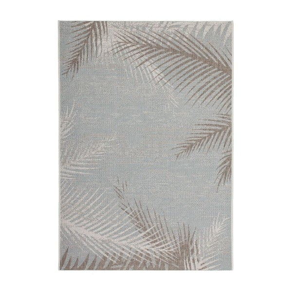 Dywan Tropical 330 Grey Leaf, 160x230 cm