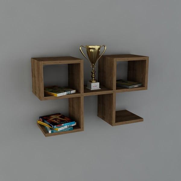 Półka Vita Book Walnut, 22x65,4x40 cm
