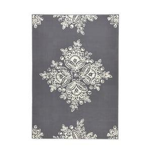 Szary dywan Hans Home Gloria Blossom, 80x150 cm
