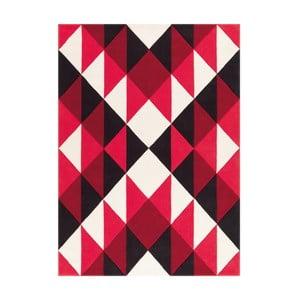 Ręcznie tkany dywan Joy Zigzag, 140x200 cm