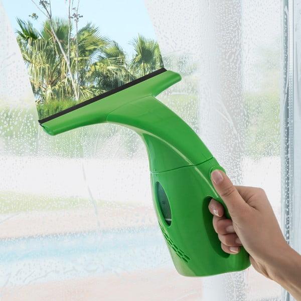 Zielone urządzenie do mycia szyb InnovaGoods X6