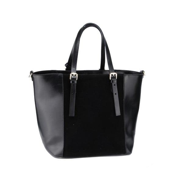 Skórzana torebka Gomeisa, czarna