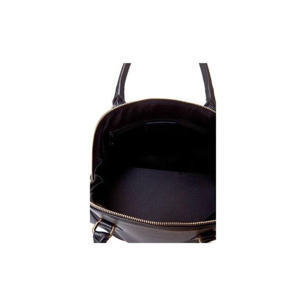 Czarna torebka skórzana Massimo Castelli Atanasio