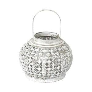 Lampion metalowy Bulb, 18x23x18 cm