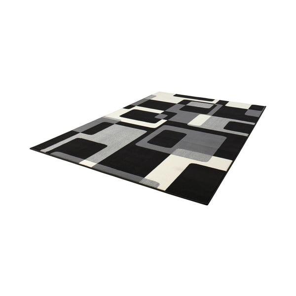 Dywan Hamla Retro, 120x170 cm, czarny