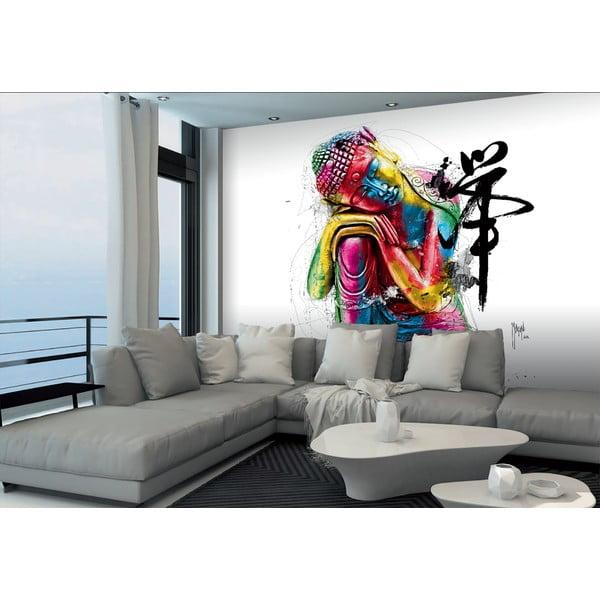 Tapeta wielkoformatowa Kolorowy Buddha, 366x254 cm