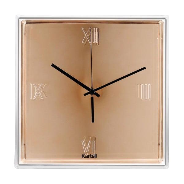 Miedziany zegar wiszący Kartell Tic & Tac New