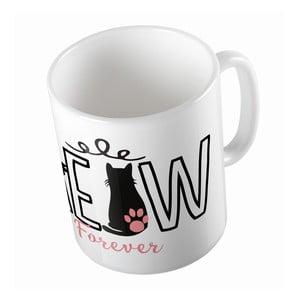 Ceramiczny kubek Meow Forever, 330 ml