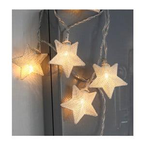 Girlanda świetlna LED Best Season Net Stars Silver