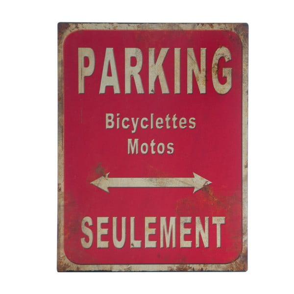Tablica metalowa Parking, 25x33 cm