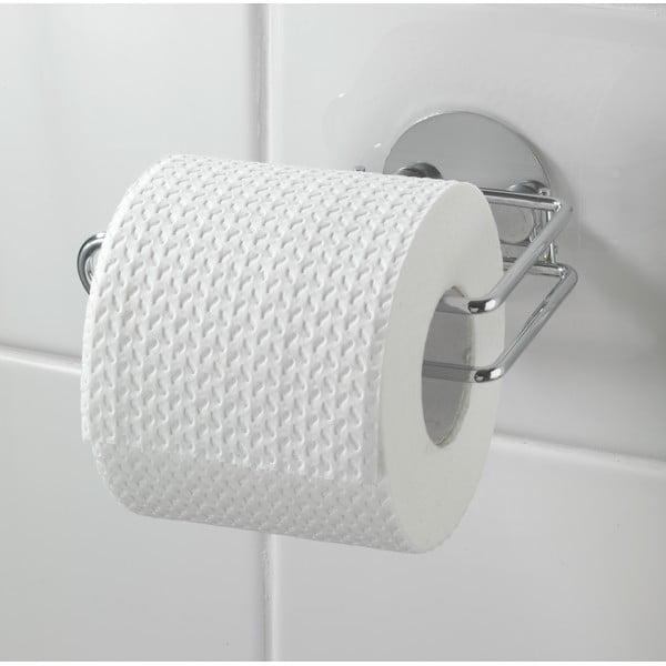 Uchwyt na papier toaletowy z przyssawką  Paper Turbo, do 40 kg