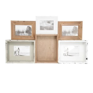 Półka z ramką na zdjęcie Tray In Wood, 68x40 cm