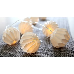 Lampa Paper Flowers White