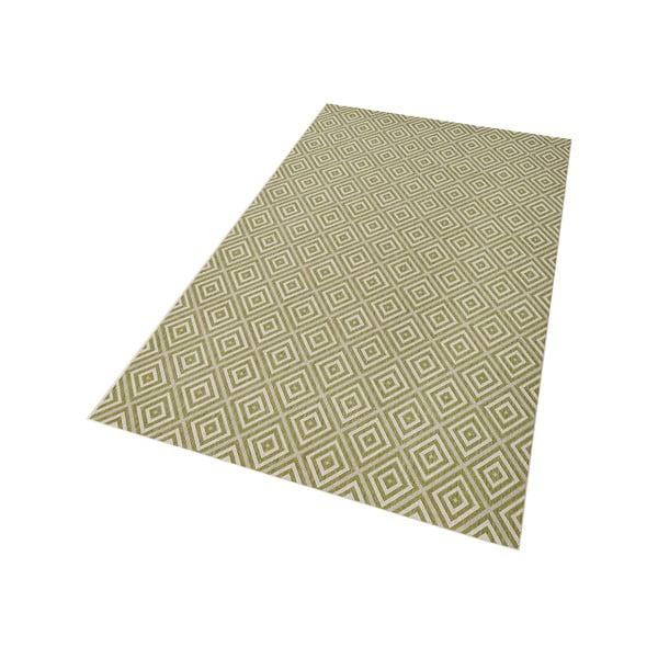 Zielony dywan nadający się na zewnątrz Hanse Home Karo, 160 x 230 cm