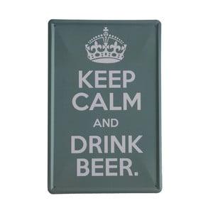 Tablica Drink Beer, 20x30 cm