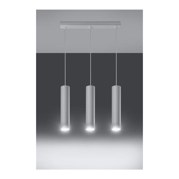 Biała lampa wisząca Nice Lamps Castro 3