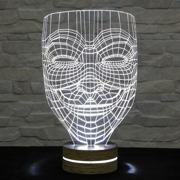 Lampa 3D stołowa Anonymous