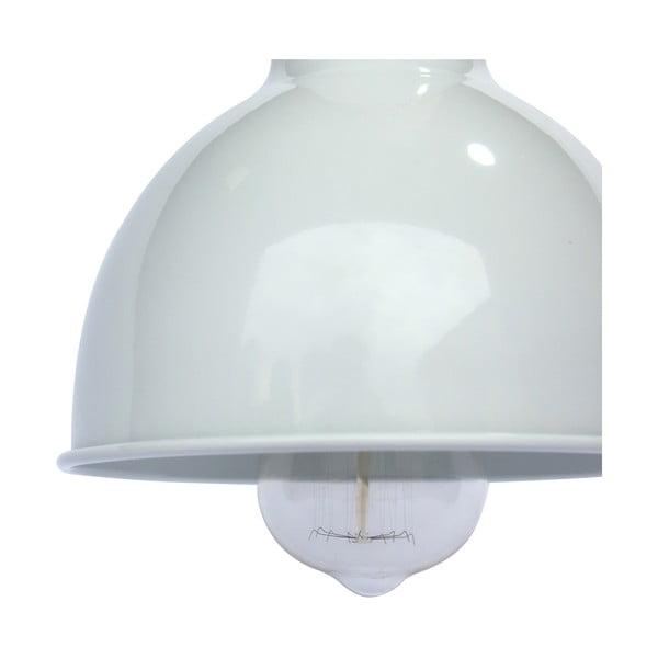 Biała lampa wisząca Red Cartel Lazara, 18 cm