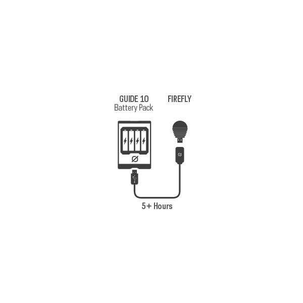 Lampa USB Firefly