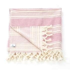 Ręcznik hammam Pestemal Pink Ivory