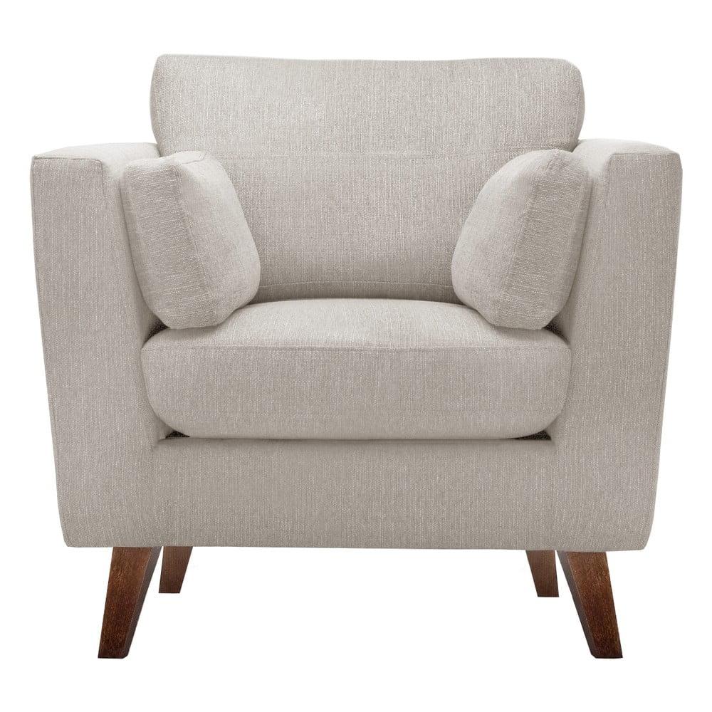Beżowy fotel Jalouse Maison Elisa