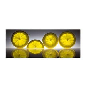 Szklany obraz Lemon 30x80 cm
