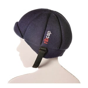 Niebieska dziecięca czapka ochronna Ribcap Jackson, L