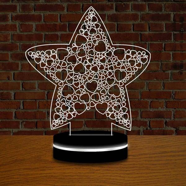 Lampa z efektem 3D Christmas no. 2